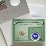 10K Greeting Card